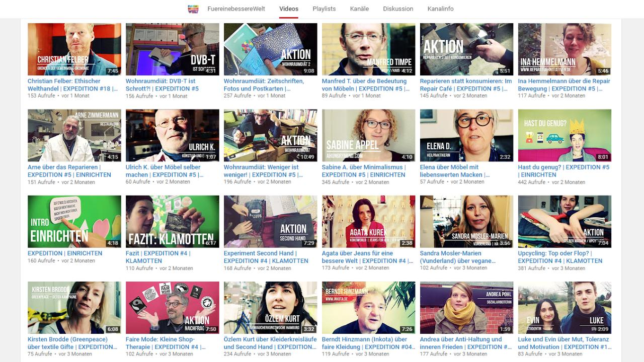 Screen: YouTube Playlist