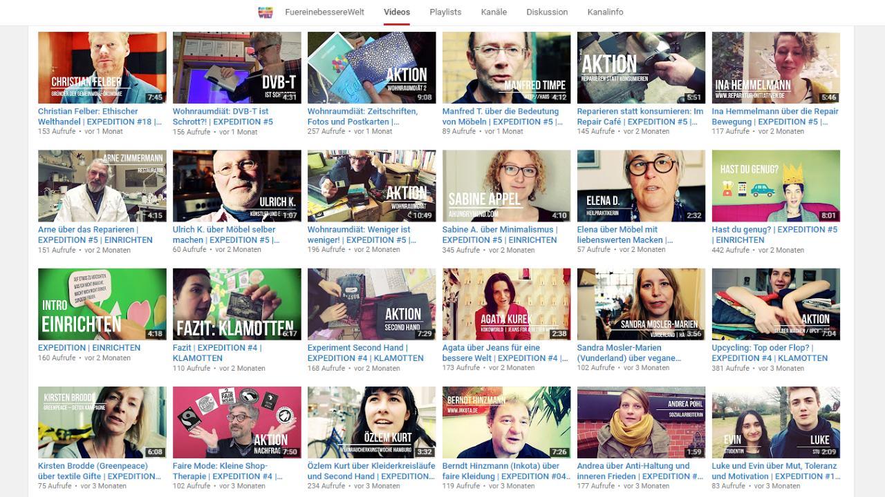 Screen: YouTube Playlist