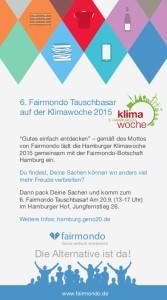 Fairmondo Tauschbasar Online-Flyer