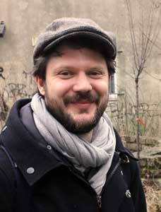 Fabian Berger: Koordiniert die Plattform Grünanteil