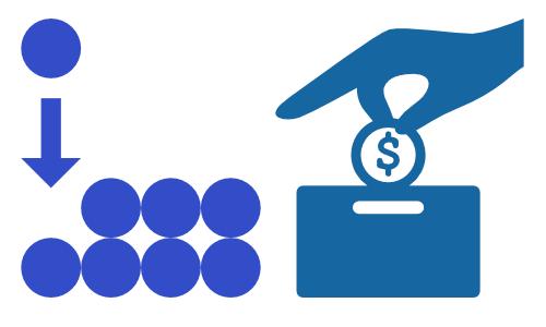 Besser investieren: Spenden