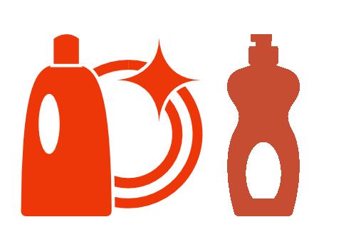 Putzmittel mixen: Geschirrspülmittel