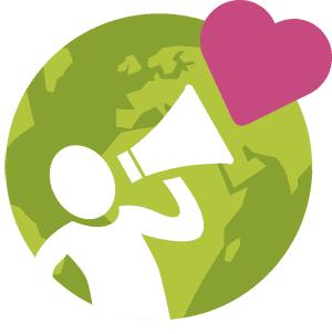 Logo: Und jetzt retten wir die Welt!