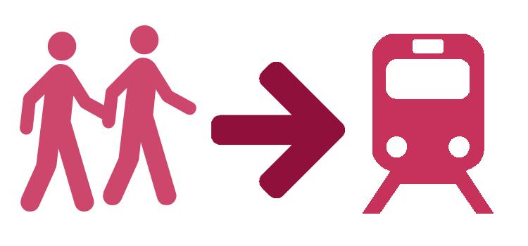Fahrgemeinschaft: Oder gemeinsam in der Bahn?