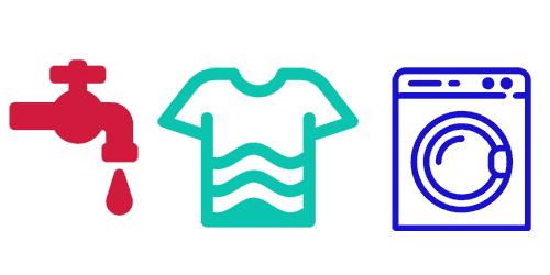 Wasserhaushalt: Wäsche waschen