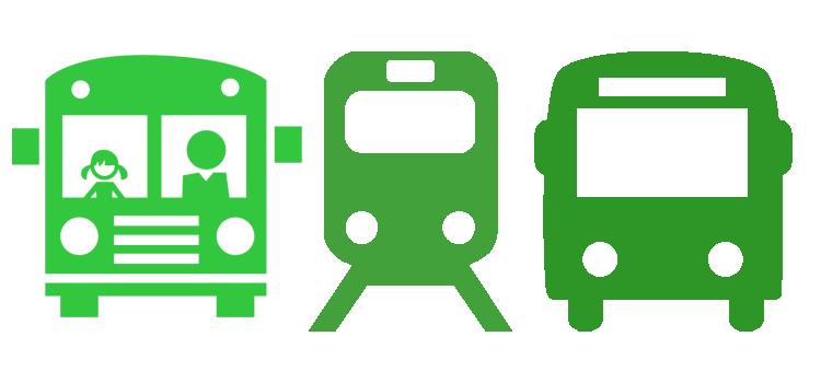 Autofrei leben: Öffentliche Verkehrsmittel