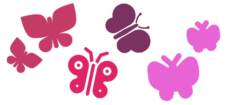 Wilde Orte schaffen: Schmetterlingshaufen
