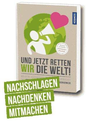 Buch: Und jetzt retten wir die Welt 250x250px