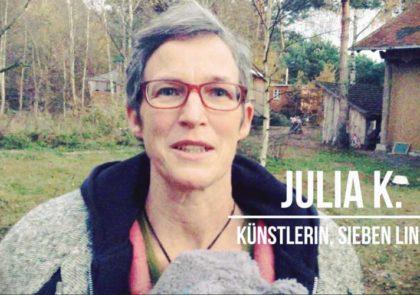 Mit welcher Haltung retten wir die Welt? Julia K. aus Sieben Linden