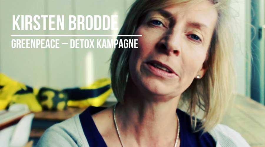 Interview: Kirsten Brodde arbeitet bei Greenpeace an der Detox My Fashion Kampagne