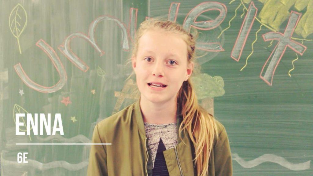 Hamburger Schülerinnen retten die Welt: Enna
