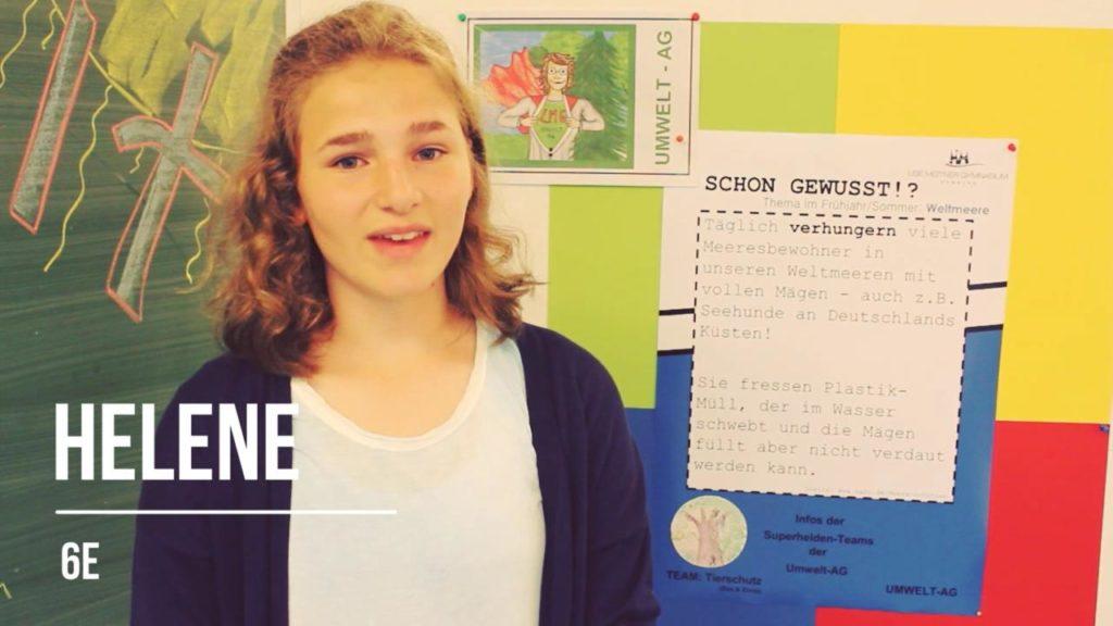 Hamburger Schüler retten die Welt: Helene