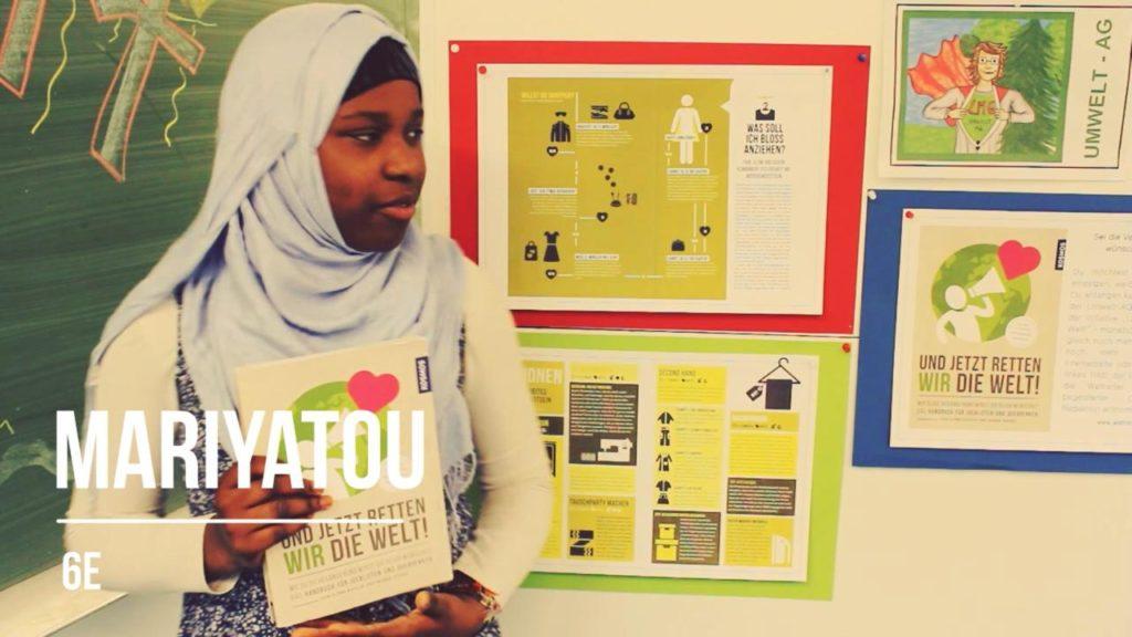 Hamburger Schüler retten die Welt: Mariyatou