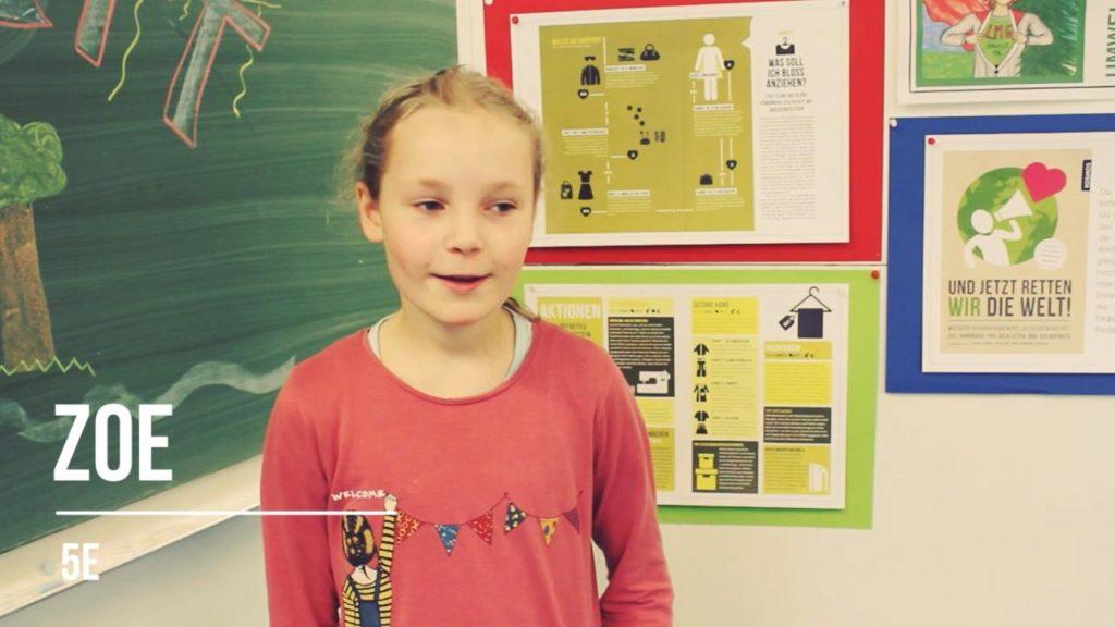Hamburger Schüler retten die Welt: Zoe