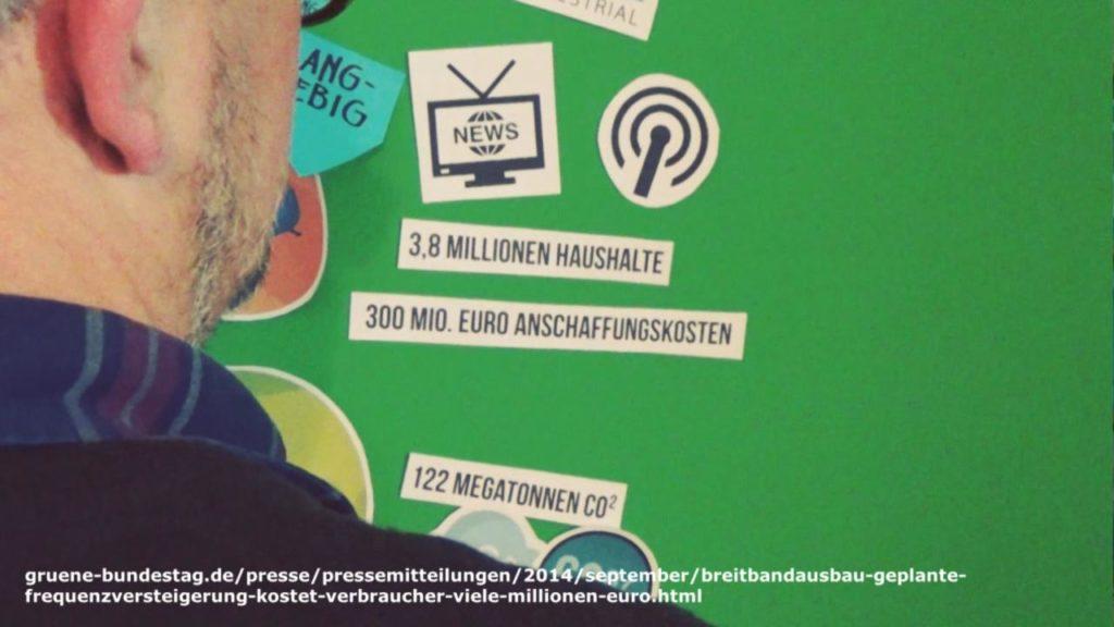 Wohnraumdiät: DVB-T - Ein paar Zahlen...
