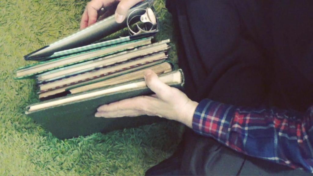 Wohnraumdiät: Fotoalben auflösen