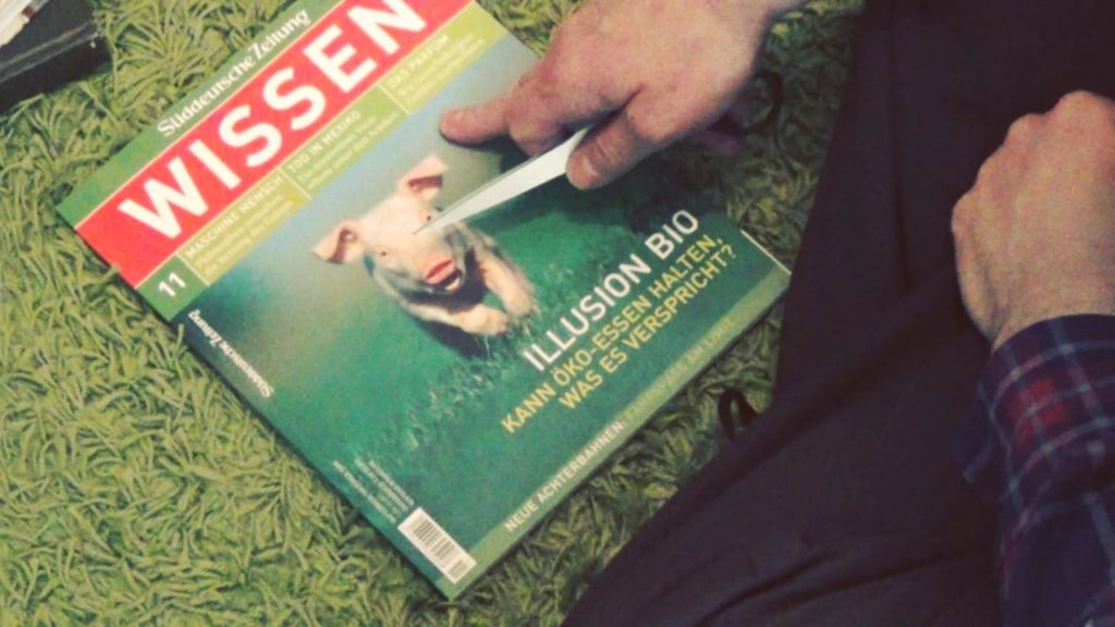 Wohnraumdiät: Zeitschriften asudünnen