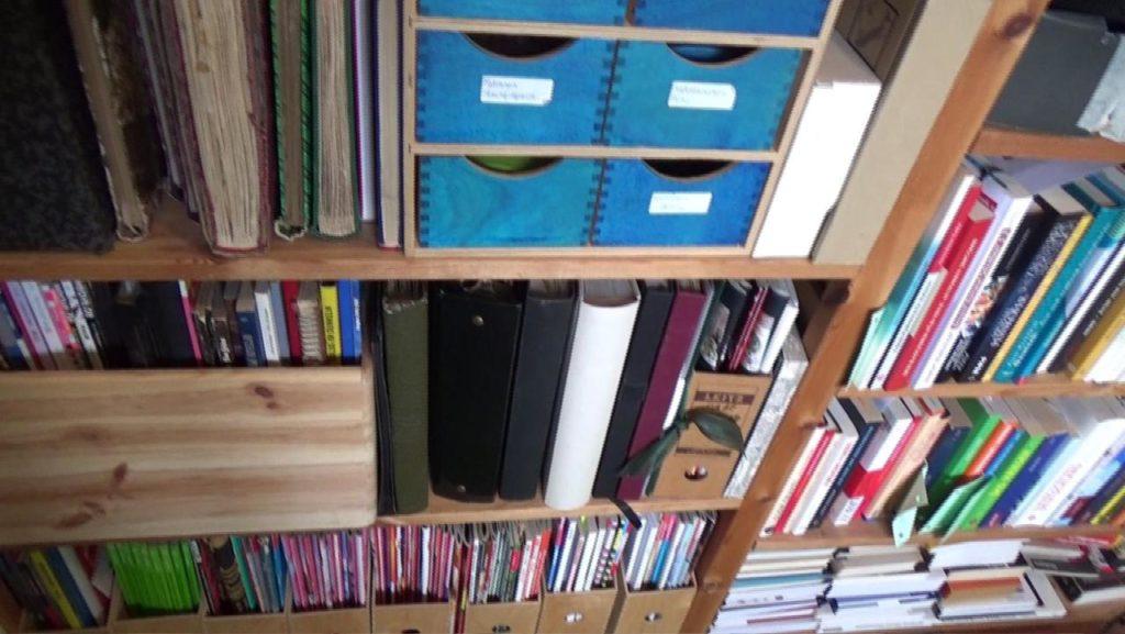 Wohnraumdiät: Zeitschriftenregal