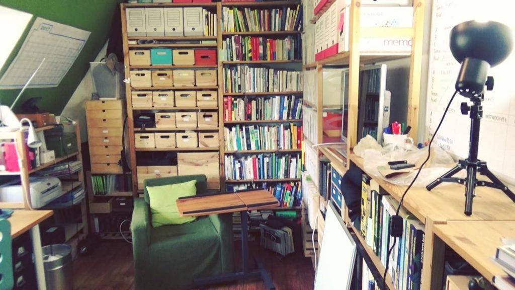 Wohnraumdiät: Büro
