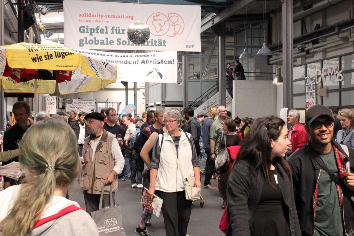 Gipfel für globale Solidarität – Alternativgipfel zu G20 in Hamburg