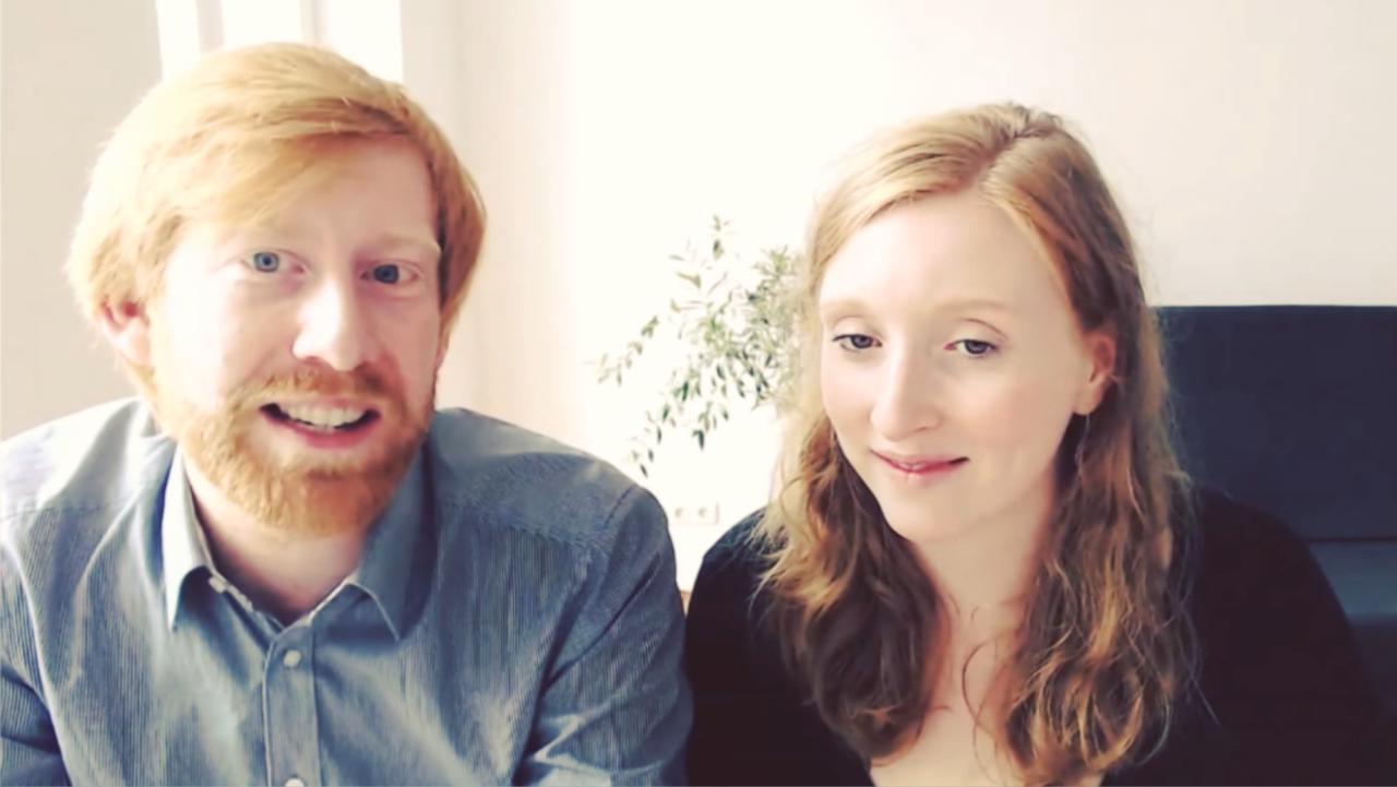 Tim Janßen und Nora Sophie Griefahn vom Cradle to Cradle e.V.