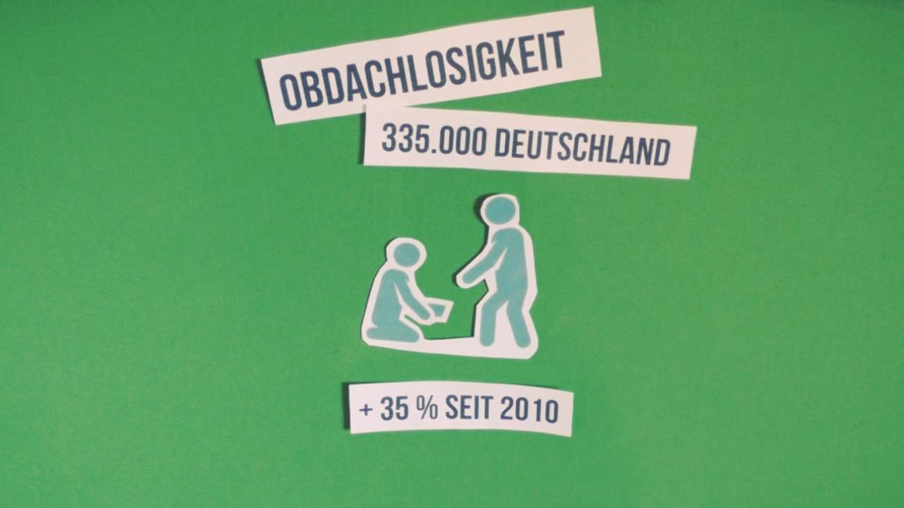 Wohnen Fazit: 335.000 Wohnungslose in Deutschland